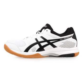 ASICS GEL-ROCKET 8 女排羽球鞋-排球 羽球 亞瑟士 白黑