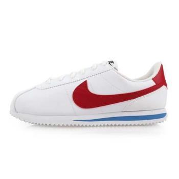 NIKE CORTEZ BASIC SLGS 女休閒鞋-慢跑 路跑 阿甘鞋 白紅藍