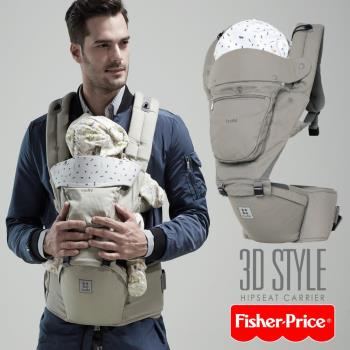 TODBI-3D STYLE腰凳式揹巾-北歐灰