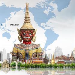 泰國輕鬆遊雙夜市.人妖秀.泰式按摩5+1日(無購物)旅遊