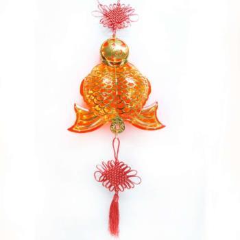 【農曆春節】農曆春節特選◎百福雙魚 LED燈串吊飾 (附控制器)