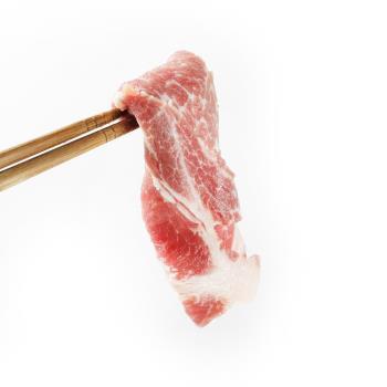 那鲁湾 台湾肩胛梅花猪肉切片15包(300g/包)