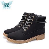 Casual Girl USA 美式工作靴 - 黑色