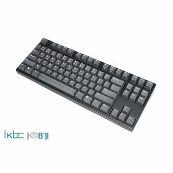 ikbc KD87 cherry (銀軸,靜音紅軸) 台灣製造