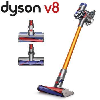 Dyson V8 Carbon Fibre無線吸塵器 (金)