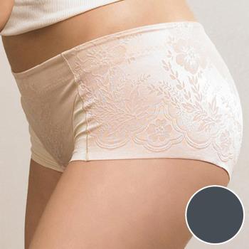 【華歌爾】BABY HIP 系列 64-82 低腰短管修飾褲(星塵灰)