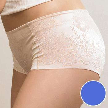 【華歌爾】BABY HIP 系列 64-82 低腰短管修飾褲(愛琴海藍)