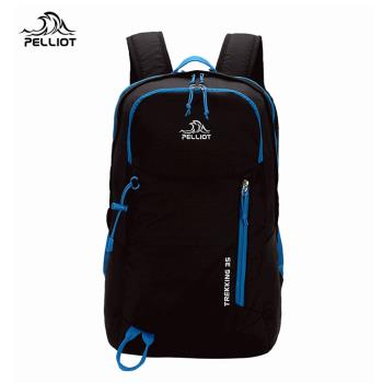 Pelliot輕量型雙肩揹登山包防潑水後背包-中型背包,35L