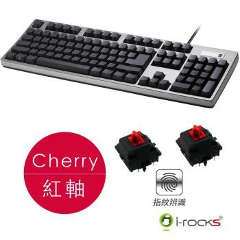 i-Rocks IRK68MNF側刻無背光指紋辨識機械式鍵盤