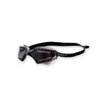 SPEEDO AQUAPULSE MAX 2成人進階型泳鏡-游泳蛙鏡防霧抗UV 黑白