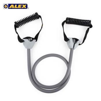 ALEX 高強度拉力繩-重型-拉力帶 瑜珈繩 彈力繩 健身阻力帶 阻力繩 訓練帶 灰