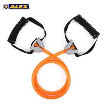 ALEX 高強度拉力繩-輕型-拉力帶 瑜珈繩 彈力繩 健身阻力帶 阻力繩 訓練帶 橘