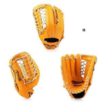 MIZUNO 壘球手套-外野手用-棒球 美津濃 橘