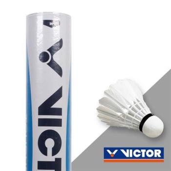 VICTOR 實用級羽球-勝利 羽球 12入 水藍標