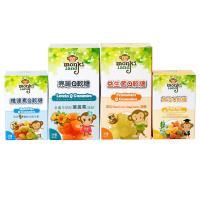 【monkiland】維健素、魚油、益生菌、亮晰Q軟糖綜合組 320g/組