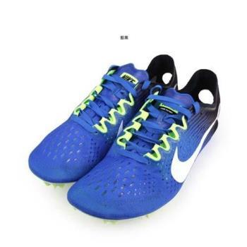 NIKE ZOOM VICTORY 3 男女田徑釘鞋-長距離 附鞋袋 競賽 藍白