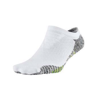 NIKE 女GRIP輕質短襪-慢跑 路跑 襪子 短襪 一雙入 白綠黑