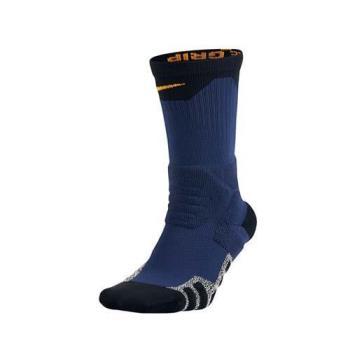 NIKE PWR CREW 男長筒襪-長襪 襪子 籃球 丈青黃白