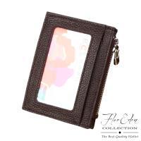 任-DF Flor Eden皮夾 - 多合一牛皮款悠遊卡多卡夾零錢包-共3色