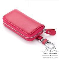 任-DF Flor Eden皮夾 - 經典必備款牛皮款鑰匙包-共3色