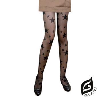 【GLANZ 格藍絲】日系甜美辛辣造型顯瘦透膚襪-閃耀新星