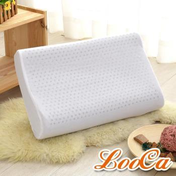 LooCa 淨化黑竹炭工學乳膠枕(1入)