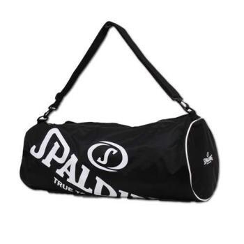 SPALDING 三顆裝球袋-斯伯丁 籃球 側背包 手提袋 收納袋 行李袋 黑白