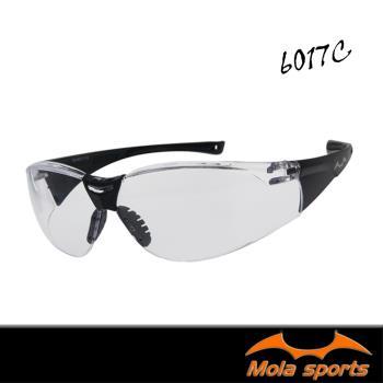 MOLA SPORTS 摩拉運動安全眼鏡 護目鏡 防霧透明鏡片 超輕量 男女可戴 6017c