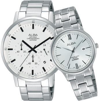 ALBA雅柏簡約時尚腕錶VJ22-X267S/AH7P75X1公司貨