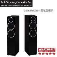 英國Wharfedale 落地型喇叭 (黑) Diamond 230