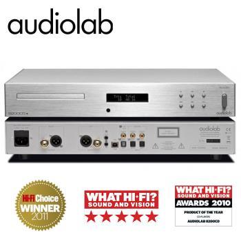 英國Audiolab CD播放機/內建USB DAC(優雅銀) 8200CD V12E