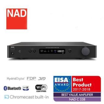 英國NAD 無線串流綜合擴大機 【C338】