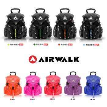 【美國AIRWALK】經典熱銷三叉扣後背包(共九款)