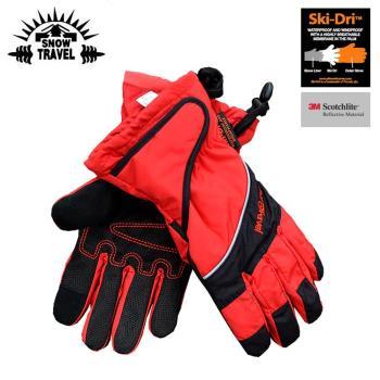 防水 防風 保暖 觸控 手套 Snow Travel 英國Ski-Dri 觸控保暖手套AR-73 紅色 / 城市綠洲