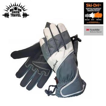 防水 防風 保暖 觸控 手套 Snow Travel 英國Ski-Dri 觸控保暖手套AR-73 灰色 / 城市綠洲