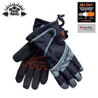 SNOW TRAVEL 英國Ski-Dri 觸控保暖手套AR-73 黑色