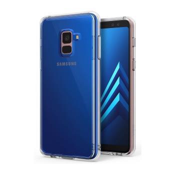 Rearth 三星 Galaxy A8 2018 (Ringke Fusion) 高質感保護殼(透明)