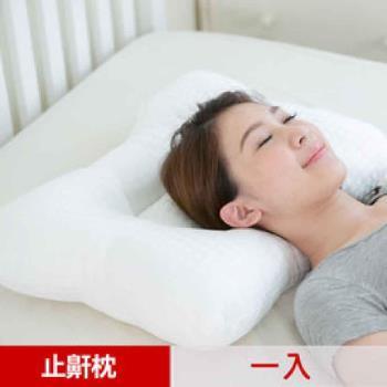 【凱蕾絲帝】台灣製造~平凹造形可水洗物理健康止鼾枕-一入