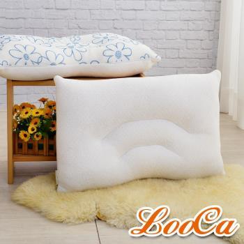LooCa 舒鼾花漾透氣兩用乳膠枕-1入 送防蹣防蚊枕套