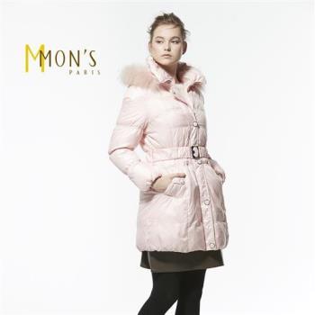 MONS北歐芬蘭國際櫃皮草羽絨大衣