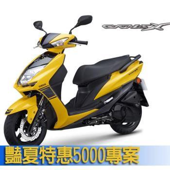 YAMAHA 山葉機車 CygnusX 新勁戰125雙碟運動風日行燈版 -2018新車