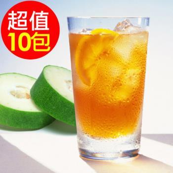 水晶 古早味冬瓜茶糖260g x10袋