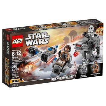 【 樂高積木 LEGO 】《 LT75195 》STAR WARS 星際大戰系列 - 雪地噴射機 vs. 第一軍團裝甲走獸AT-M6