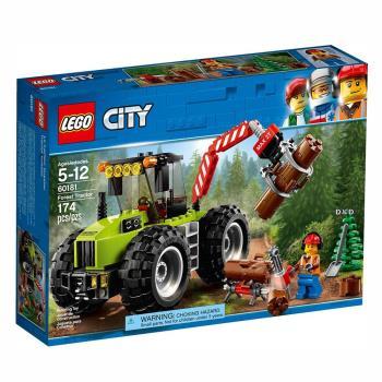 【 樂高積木 LEGO 】《 LT60181 》City 城市系列 - 森林拖拉機
