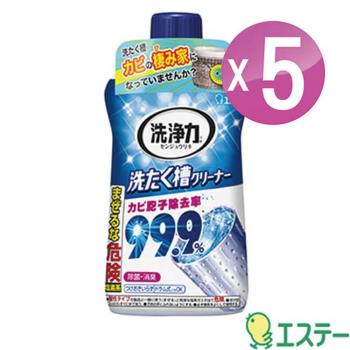 ST雞仔牌 洗衣槽除菌劑550g 五入組 ST-909780