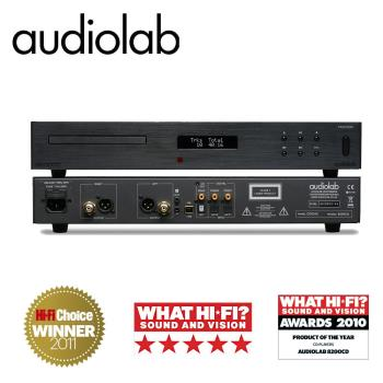 英國Audiolab CD播放機/內建USB DAC(經典黑) 8200CD V12E