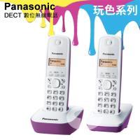Panasonic 國際牌DECT數位無線電話 KX-TG1612 (羅蘭紫)