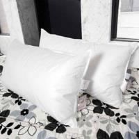 【凱蕾絲帝】台灣製造專櫃級100%純天然超澎柔羽絨枕(2入)1.4kg