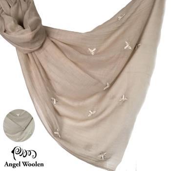 Angel Woolen 印度手工100%羊絨披肩(2色選)