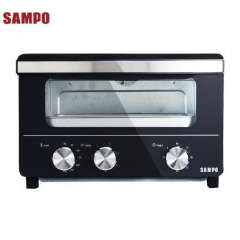 SAMPO聲寶15L蒸氣烤箱  KZ-SA15W
